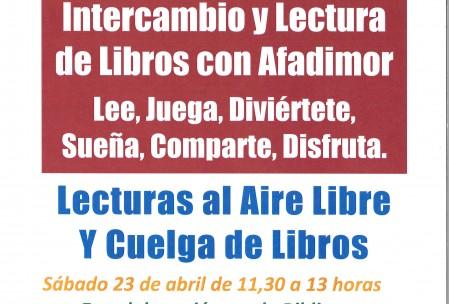 Día del Libro Biblioteca Afadimor